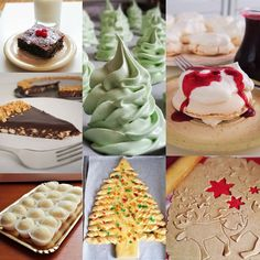 Pavlova, Macarons, Mousse, Panna Cotta, Holiday, Christmas, Food And Drink, Xmas, Dulce De Leche