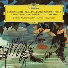 Debussy: La Mer, L.109 / Ravel: Daphnis and Chloe Berliner Philharmoniker/Karajan 180g Vinyl LP