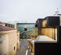ARCHEOLOGICAL MUSEUM OF ALAVA - SPAIN / FRANCISCO MANGADO ARCHITECT