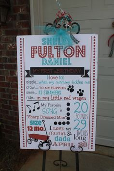 """Photo 1 of 18: little red wagon / Birthday """"Fulton's 1st Birthday""""   Catch My Party"""