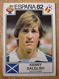 Image result for espana 82 panini dalglish Kenny Dalglish, Football Stickers, Fifa World Cup, Football Soccer, Scotland, Baseball Cards, Sports, Image, Legends