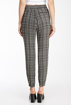 Soft Joie Sidra Casablanca Tile-Print Pants - Caviar - Size X-Small Forever 21 Uk, Shop Forever, Printed Pants, Caviar, My Wardrobe, Joggers, Latest Trends, Tees, Clothes