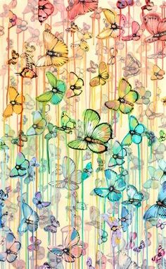 Love this Sage Vaughn print for HomeMint. I love butterflies!
