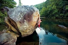 Little River Canyon Bouldering - credit: Climbing Magazine