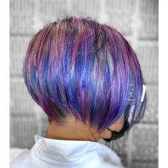 Craft hair color Fantasy Hair Color, Rainbow Hair, Dreadlocks, Long Hair Styles, Craft, Beauty, Creative Crafts, Long Hairstyle, Crafting