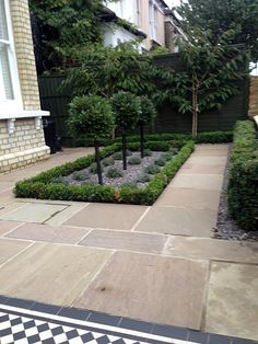 Fresh Front Yard and Backyard Landscaping Ideas ~ Home And Garden Garden Design London, Front Yard Garden Design, Formal Garden Design, London Garden, Small Garden Design, Front Yard Landscaping, Front Garden Ideas Driveway, Landscaping Ideas, Backyard Ideas