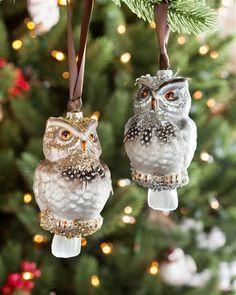 Woodland Owl Ornamen
