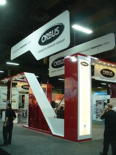 The Orbus Company booth at #Exhibitor2012