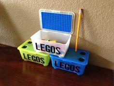 Travel Lego Kit legos includedsmall box & by CreativeCaterpillar, $18.00