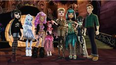 And Abbey Ghouls rule - Monster High Dolls . Monster High Art, Monster High Dolls, Monster High Pictures, Catty Noir, Cartoon Outfits, Ever After High, Art Base, Work Inspiration, Girl Cartoon