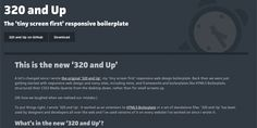 320 and up - framework css - www.eewee.fr