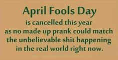Hate to see it End Of The World, The Real World, April Fools Day, Don't Give Up, New Image, Pranks, Hate, Messages, Shit Happens