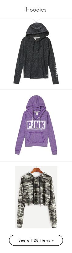 """""""Hoodies"""" by basketballislife11 ❤ liked on Polyvore featuring tops, hoodies, jackets, shirts, sweaters, victoria secret hoodie, hoodie top, pink victoria secret hoodies, victoria's secret and hooded pullover"""