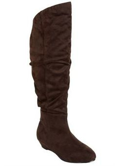 2470758ac6a Sue High Wide Calf Boot By Comfortview®