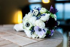 Idée bouquet // Un mariage en hiver