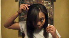 "Kimberly Holden #3: Hair Extensions Tutorial (clip-ins) - ""Aurora Black Series Professio..."
