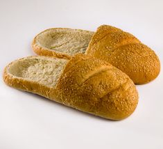 Bread Shoes! Crispy on the outside, soft on the inside!