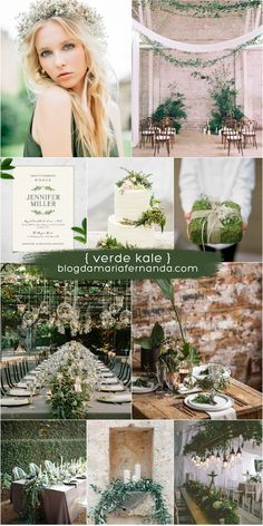 Wedding Decorations Rustic Green Color Palettes 25 New Ideas Elegant Wedding Colors, Cute Wedding Ideas, Gardenia Wedding, Wedding Flowers, Wedding Reception Outfit, Chic Wedding, Green Colour Palette, Color Palettes, Bridesmaid Dress Colors
