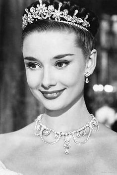 She played Princess Ann in her first staring role in the movie Roman Holiday