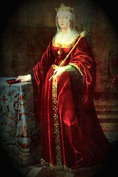 Queen Isabella of Castille, mother of Henry VIII.'s first wife, Catherine of Aragon.