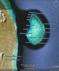 Zanzibar dive sites