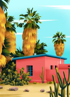 Home is a Colorful Set of Illustrations by Muhammed Sajid