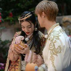 Dilraba with Luhan