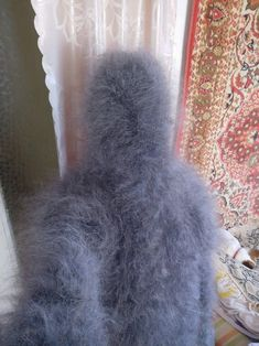 Gros Pull Mohair, Mohair Sweater, Catsuit, Sweaters, Men, Wool, Overalls, Sweater, Guys