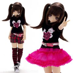 Japón Azone Doll Pure Neemo Excute Aika Wicked Style New Body RARE 1 6 Escala | eBay