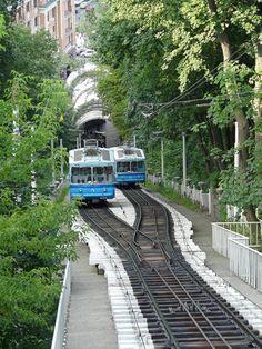 Kiev Funicular, Ukraine - Photographer?? | #Photography #Transport #Ukraine |
