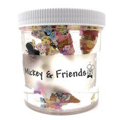 Mickey & Friends Clear Slime – snoopslimes