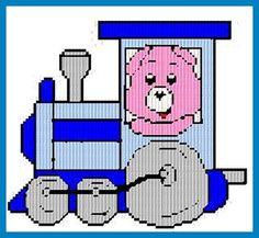 Care Bear Train Set 2