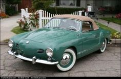 1958 Karmann Ghia  - http://sickestcars.com/2013/06/05/1958-karmann-ghia/