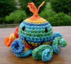 """crochet amigurumi octopus"" #Amigurumi  #crochet"