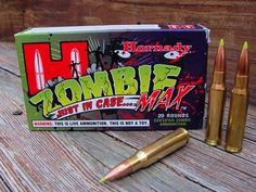 Fancy - Zombie Max Ammo by Hornady
