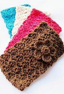 Flower Girl Cottage: Crochet Headband FREE Pattern  ❥Teresa Restegui http://www.pinterest.com/teretegui/ ❥