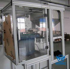 Industrial aluminium profiles for production Lines, aluminium alloy frames.
