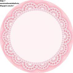 Montando minha festa: Kit digital gratuito para imprimir Fundo Princess - Coroa de Princesa Rosa!
