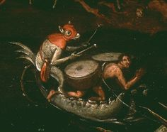 hieronymus bosch   Hieronymus Bosch: Hell (Detail)