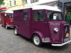 Citroen Type H, Citroen H Van, Coffee Truck, Garage, Vintage Cars, Vintage Food, Vintage Items, Vintage Recipes, Classic Cars