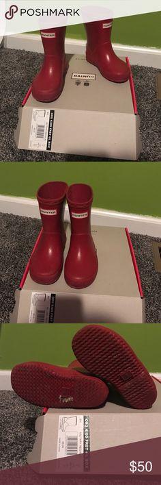 Hunter Rain Boots Red Hunter rain boots Hunter Boots Shoes Rain & Snow Boots
