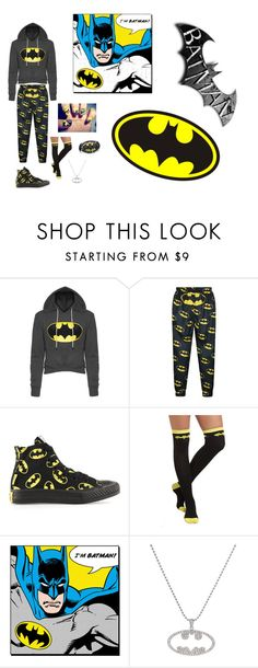 """""""Batman!!!!!"""" by meyou-ii ❤ liked on Polyvore featuring Converse"""