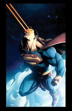 Kirby Superman Final by ~dcjosh on deviantART