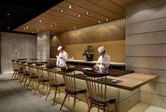 Grill & Sushi Bar by GATE interior design office, Shanghai » Retail Design Blog