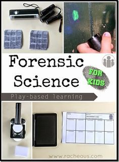 Become A Detective With Homeschool Forensic Science Activity Science For Kids Forensic Science Homeschool Science