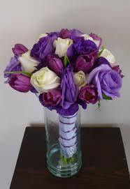 ramos de novia con tulipanes y rosa - Buscar con Google