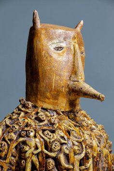 KERRY JAMESON - Wicker man (ceramic)