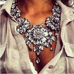71fee70e399b Glam Crystal Statement Necklace