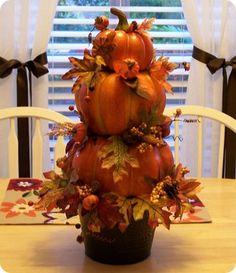Pumpkin topiary tutorial