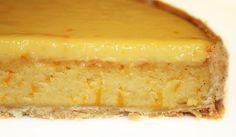TARTE SCANDALEUSE A L'ORANGE (Pâte : 250 g de farine, 175 g de beurre, 50 g d'oeuf, 65 g de sucre glace, sel, vanille) (CREME 1 : zeste de 2 oranges non traitées, 9 cl de jus d'orange, 2 oeufs, 100 g de sucre glace, 75 g de beurre, 85 g de poudre d'amandes) (CREME 2 A L'ORANGE : 1 oeuf, 1 jaune d'oeuf, 85 g de sucre, zeste d'1 orange, 9 cl de jus d'orange, 85 g de beurre, 5 g de maïzena)
